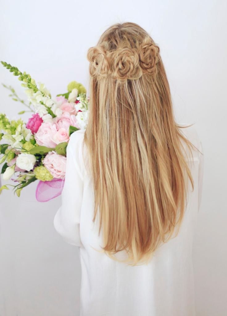 Braided Flower Crown Cowgirl Hairstyle Cowgirlhairstyle Http Www Islandcowgirl Com Braided Crown Hairstyles Long Hair Styles Hair Tutorial