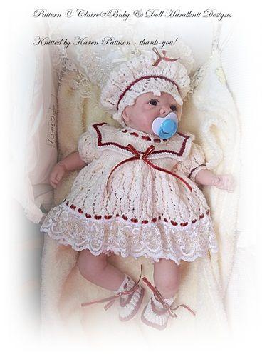 Marinero Set Vestido 14-18 pulgadas muñeca / bebé prematuro / bebé ...