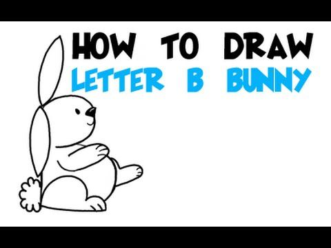 9ca090bcc04c8 Big Guide to Drawing Cartoon Bunny Rabbits with Basic Shapes for Kids    Preschoolers - How to Draw Step by Step Drawing Tutorials