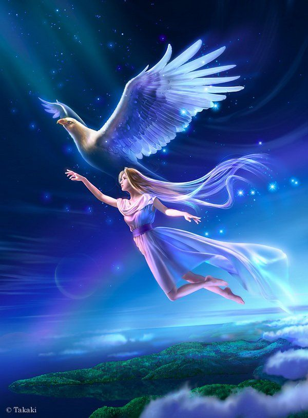 Beautiful Fantasy Art by Takaki | Cuded | Beautiful fantasy art, Fantasy  art, Spiritual pictures