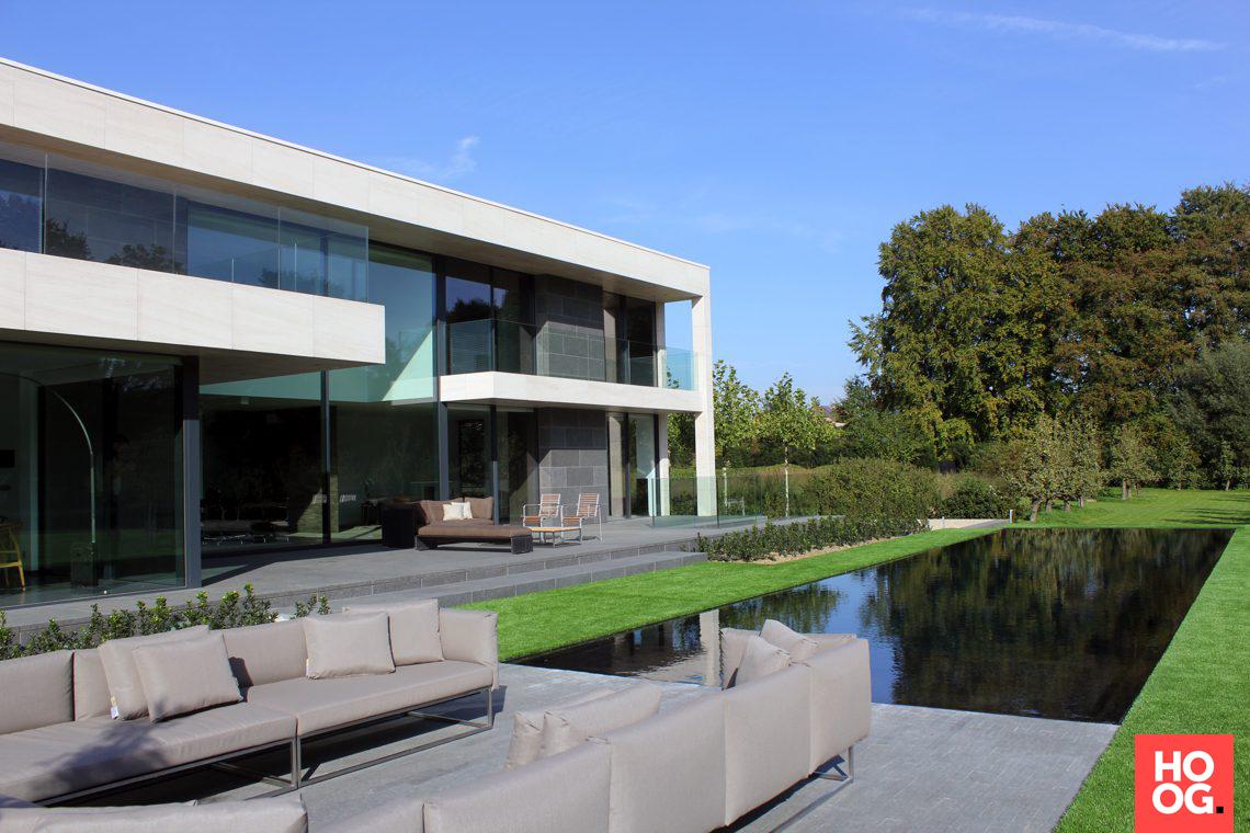 Schellen architecten moderne villa dilbeek hoog □ exclusieve