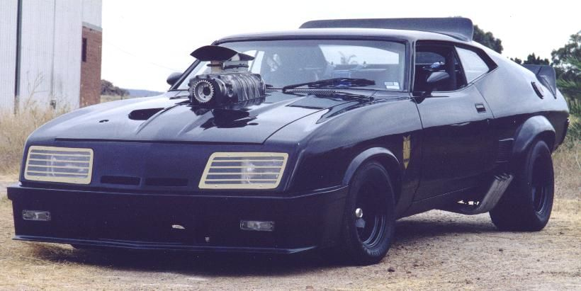 Mad Max S Police Interceptor Modified Ford Falcon Xbgt Installed