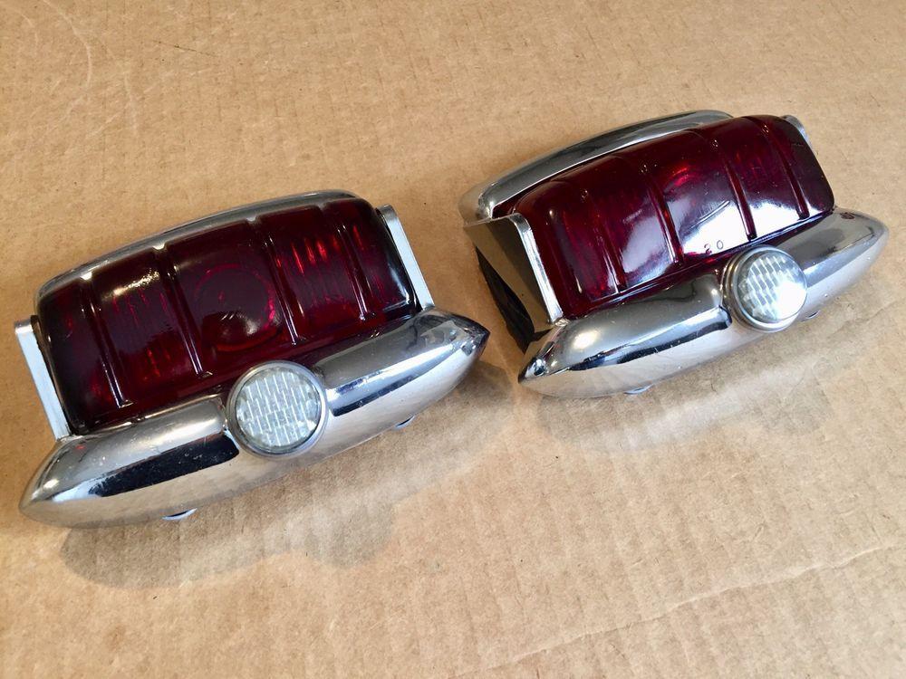 48 49 50 51 52 53 54 55 56 NOS MoPar HEADLAMP BEZEL Pair Dodge Plymouth Chrysler