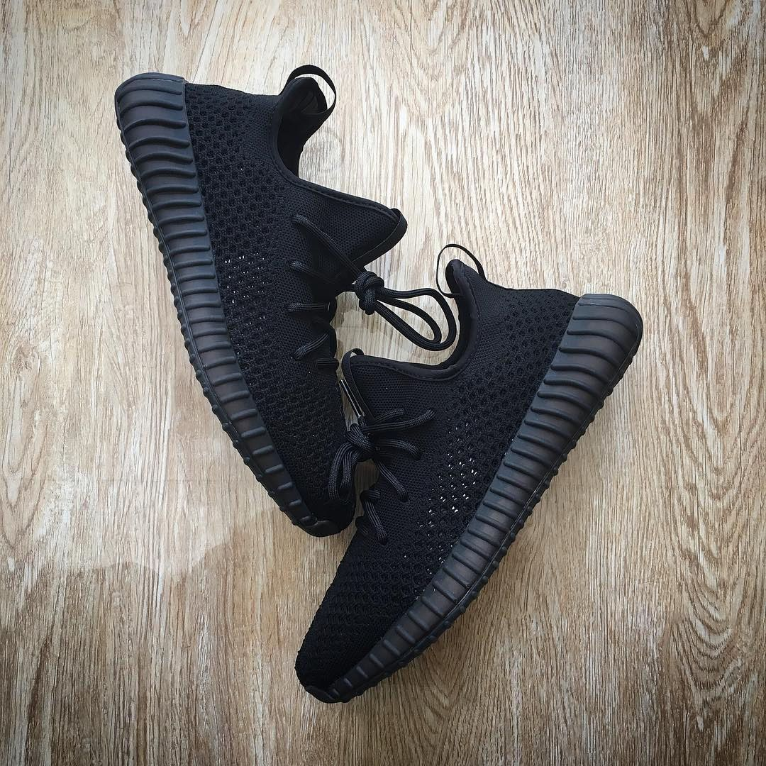 May 2017 Cheap High Quality New Style 2017 Unisex Adidas Yeezy Boost 350  Triple Black