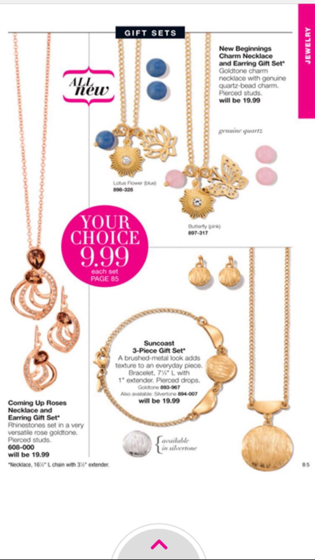 #Jewelry for $9.99 how awesome is that! Start shopping at www.youravon.com/yeseniagonzalez #avon #greatdeals #joinmyteam