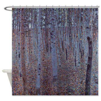 CafePress Buchenhain By Klimt Shower Curtain