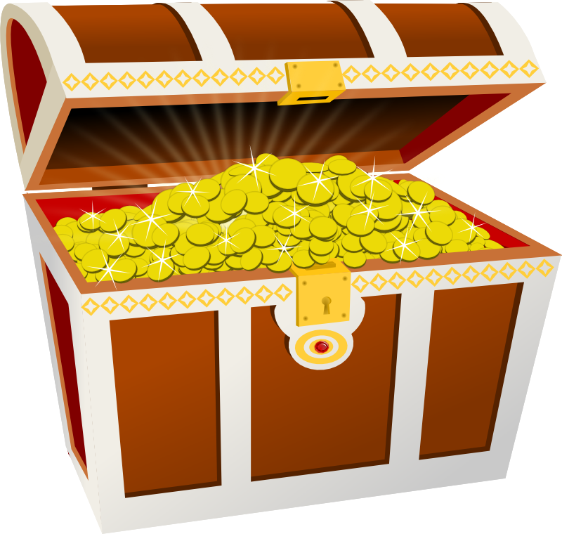 38++ Treasure chest clipart no background information
