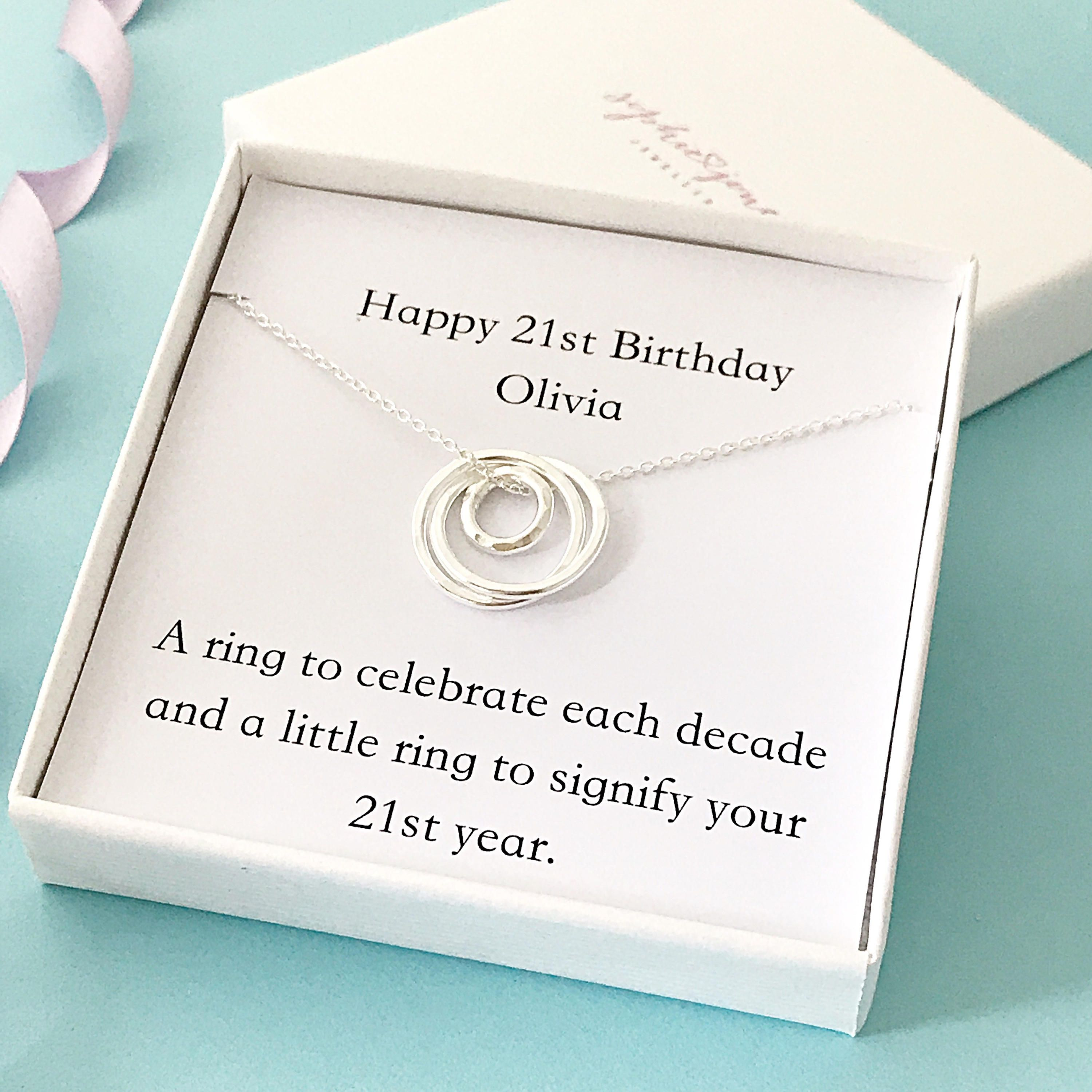 12+ 21st birthday jewelry gifts for daughter ideas in 2021