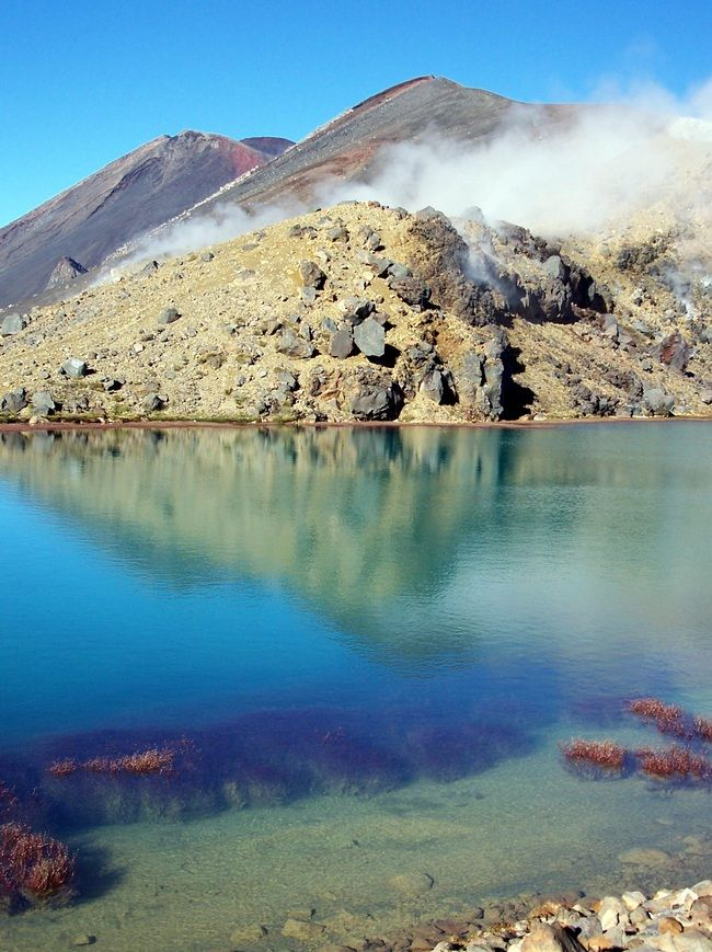 Tongariro Crossing Central Plateau North Island New Zealand Beautiful Destinations