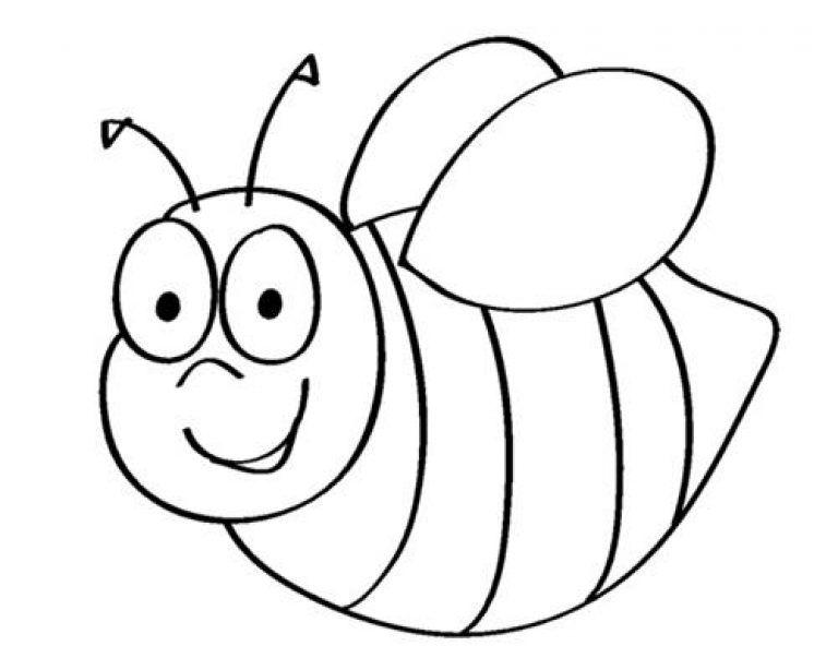 Kumpulan Gambar Untuk Mewarnai Anak Paud Lebah Gambar Warna