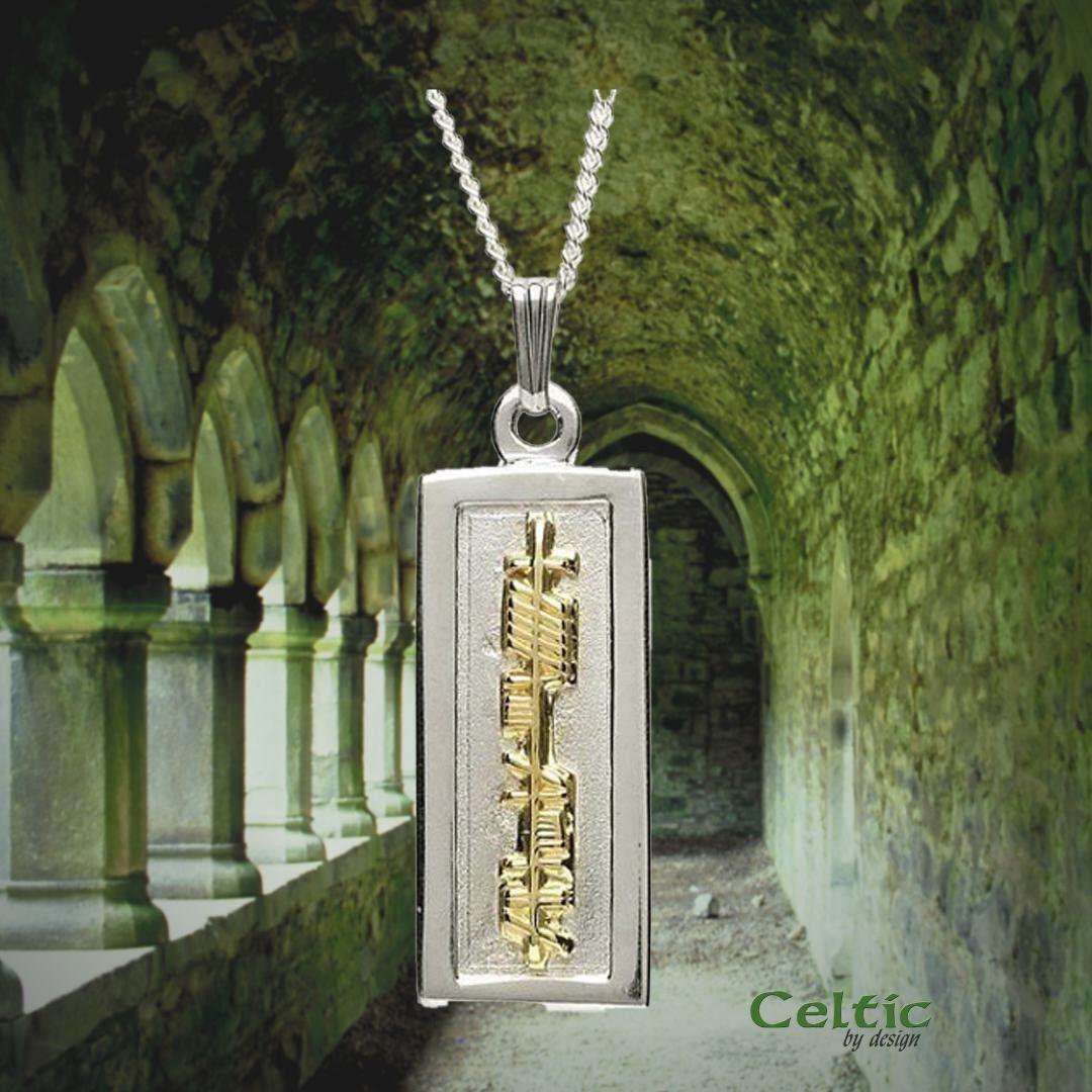 celticbydesign posted to Instagram Silver & 18K Gold Mo
