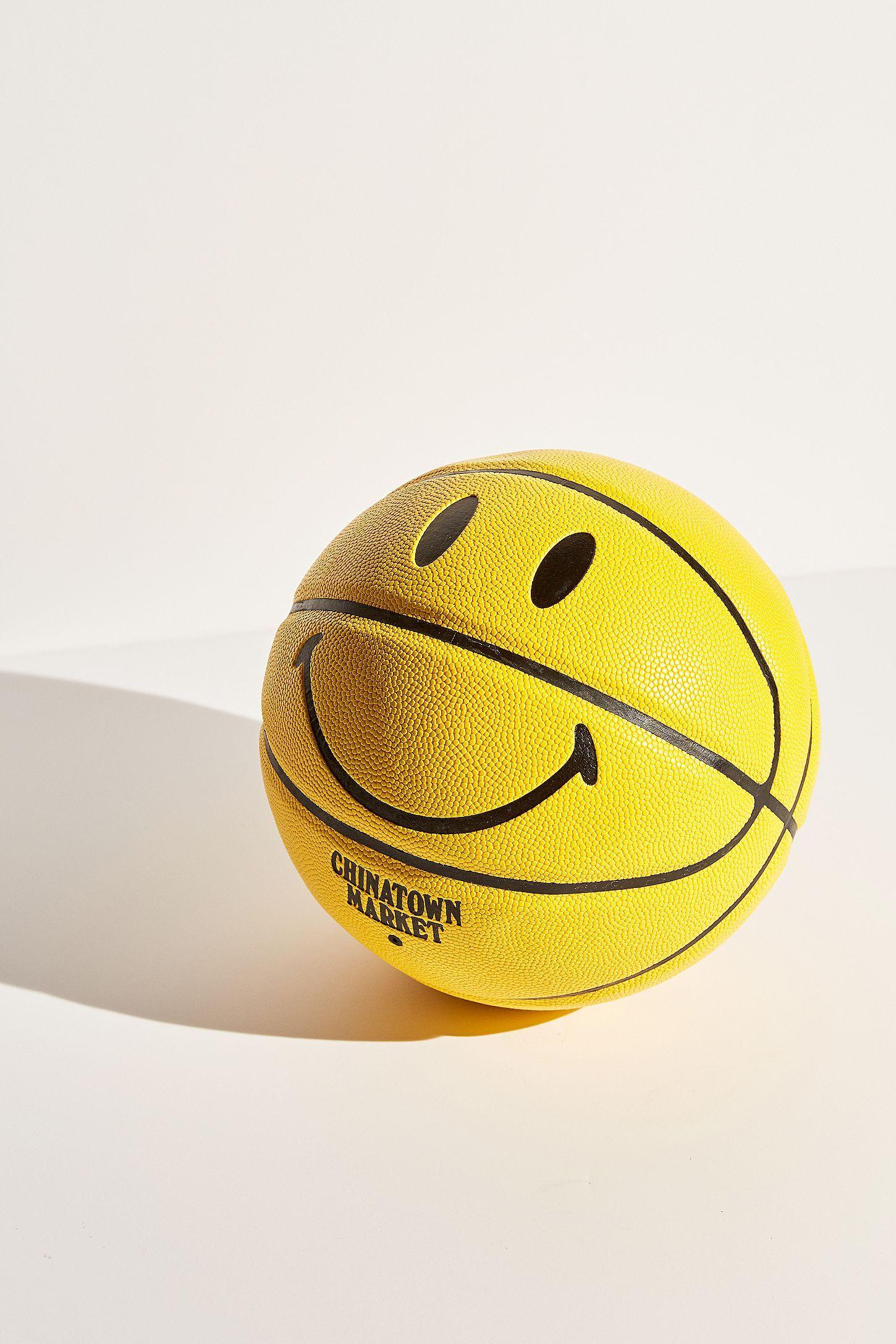Chinatown Market X Smiley Uo Exclusive Smiley Basketball Basketball Workouts Basketball Design Basketball