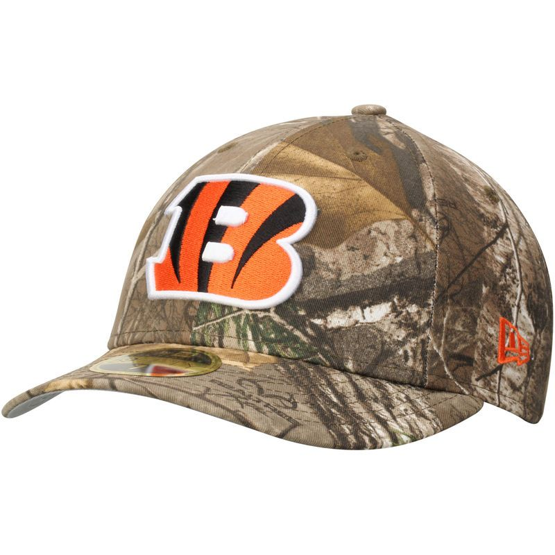 Cincinnati Bengals New Era Low Profile 59FIFTY Hat - Realtree Camo ... 767dbf806