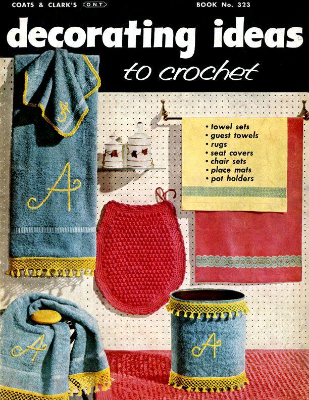 Decorating Ideas To Crochet J P Coats Clarks Ont Book No