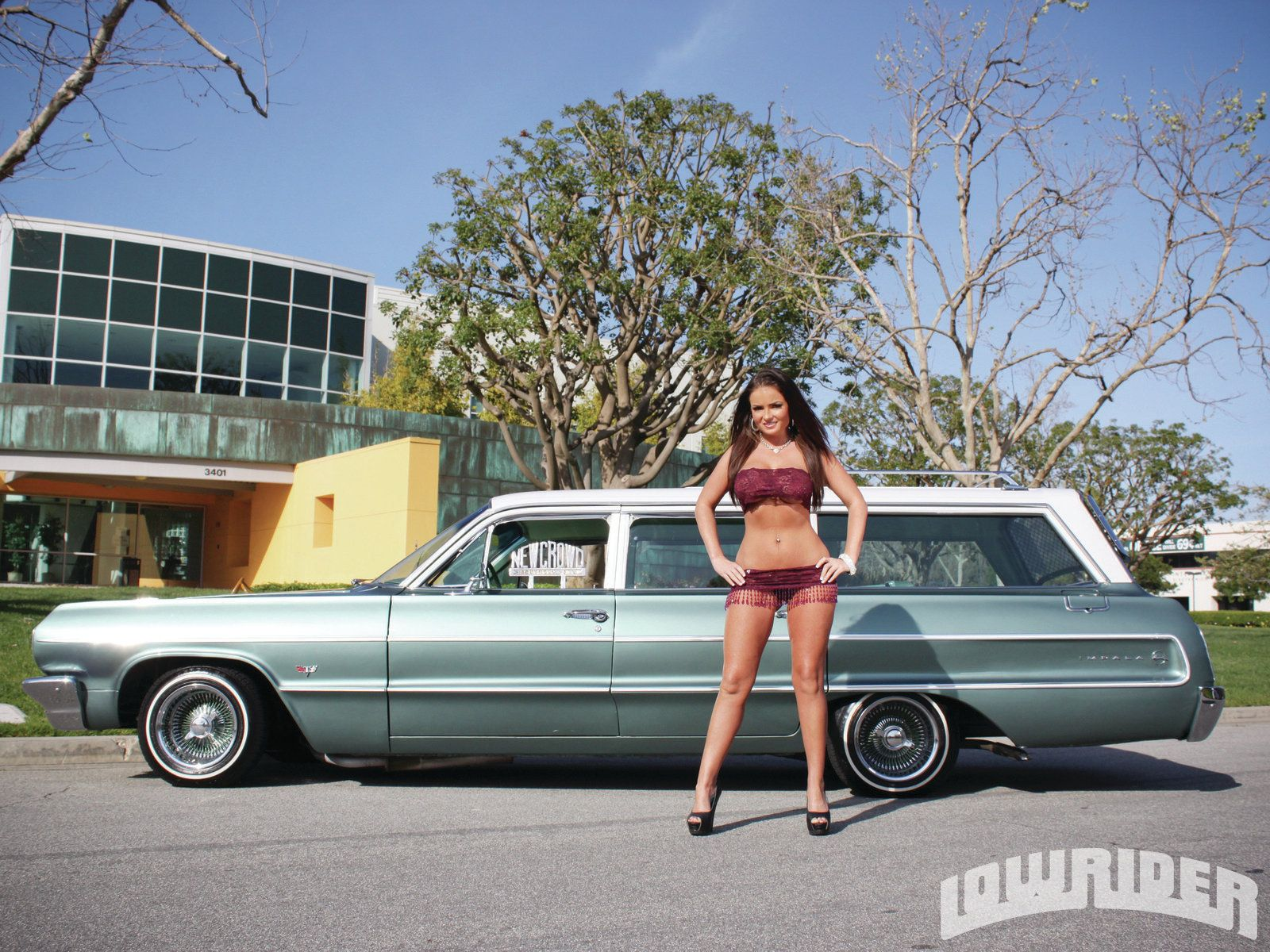 Mario left no detail overlooked and the word clean is simply an understatement for describing this 1964 chevrolet impala wagon known as family mint