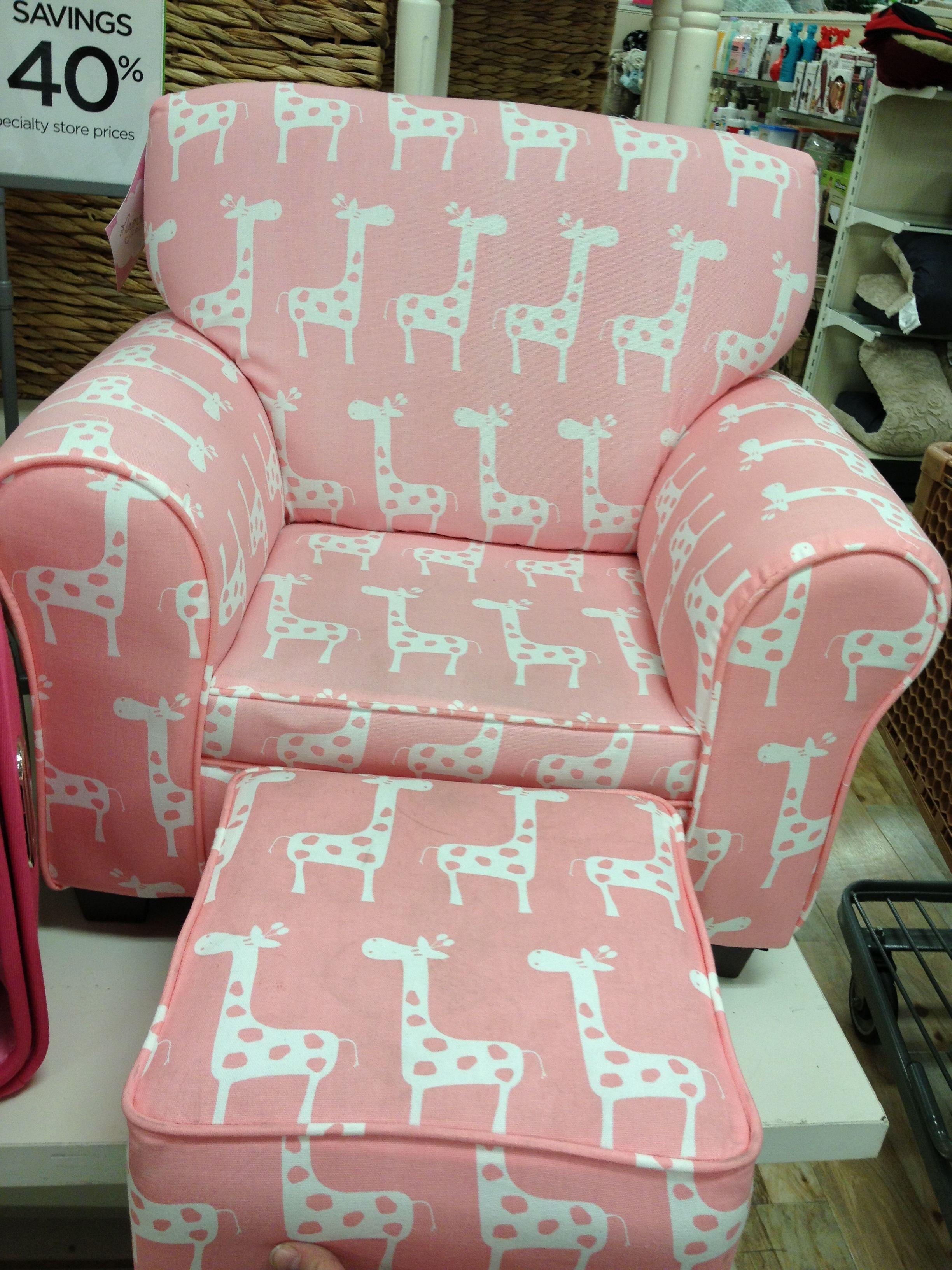 Merveilleux Pink Giraffe Kids Chair $80 Home Goods