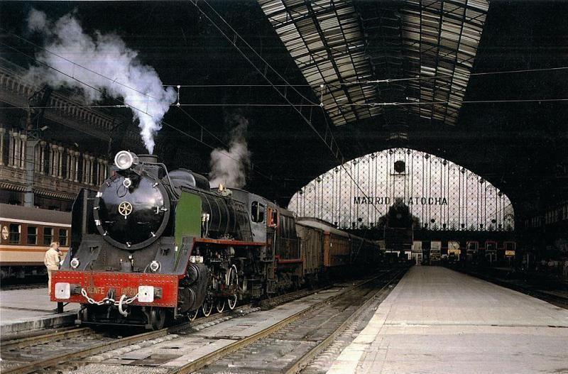 Resultado de imagen de antigua estación de tren Atocha