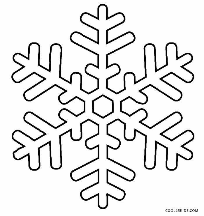 Copo De Nieve Plantilla De Copo De Nieve Copo De Nieve Dibujo Molde Copo De Nieve