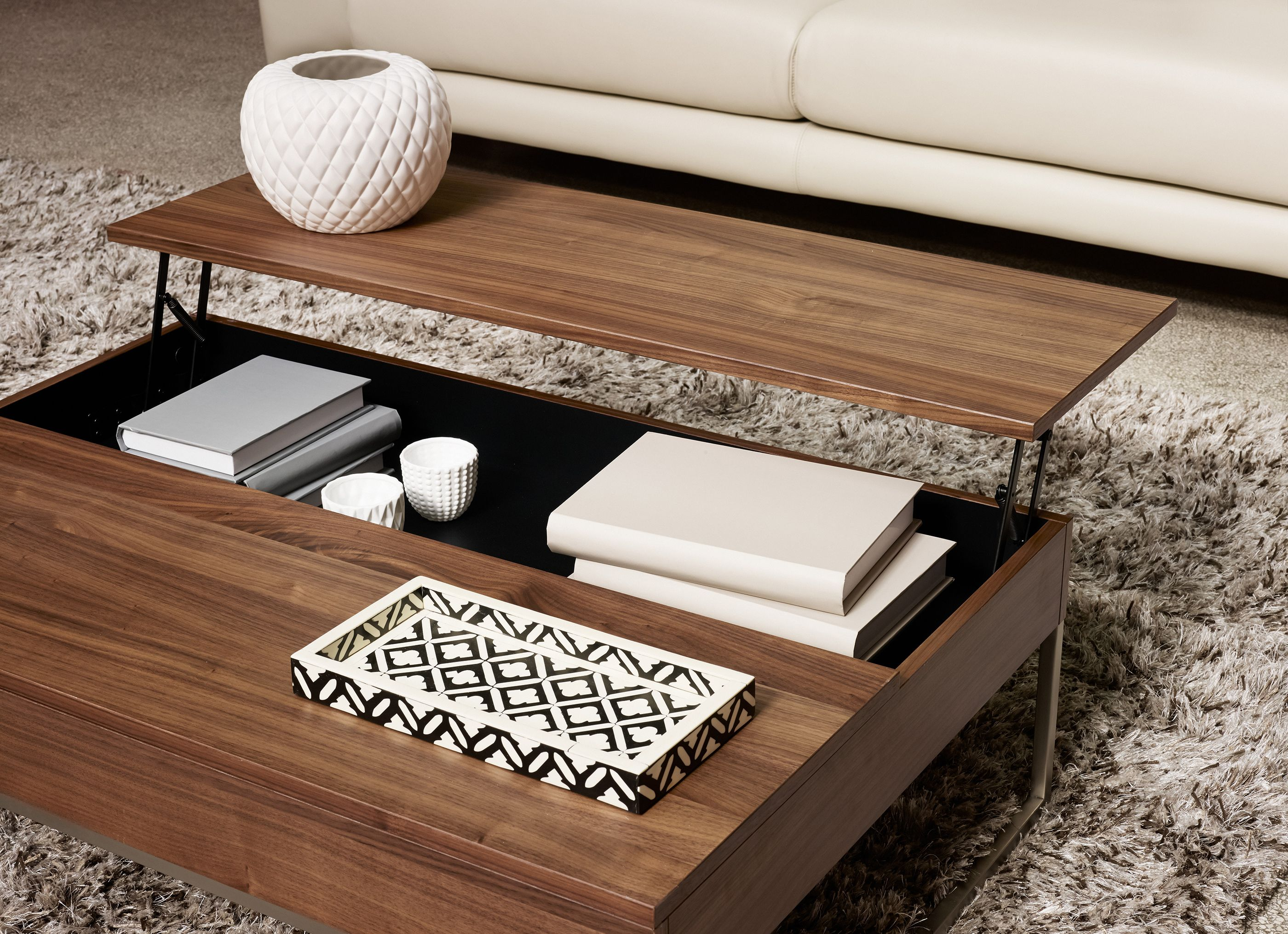Granville functional coffee table with storage available in granville functional coffee table with storage available in different colors as shown walnut geotapseo Choice Image