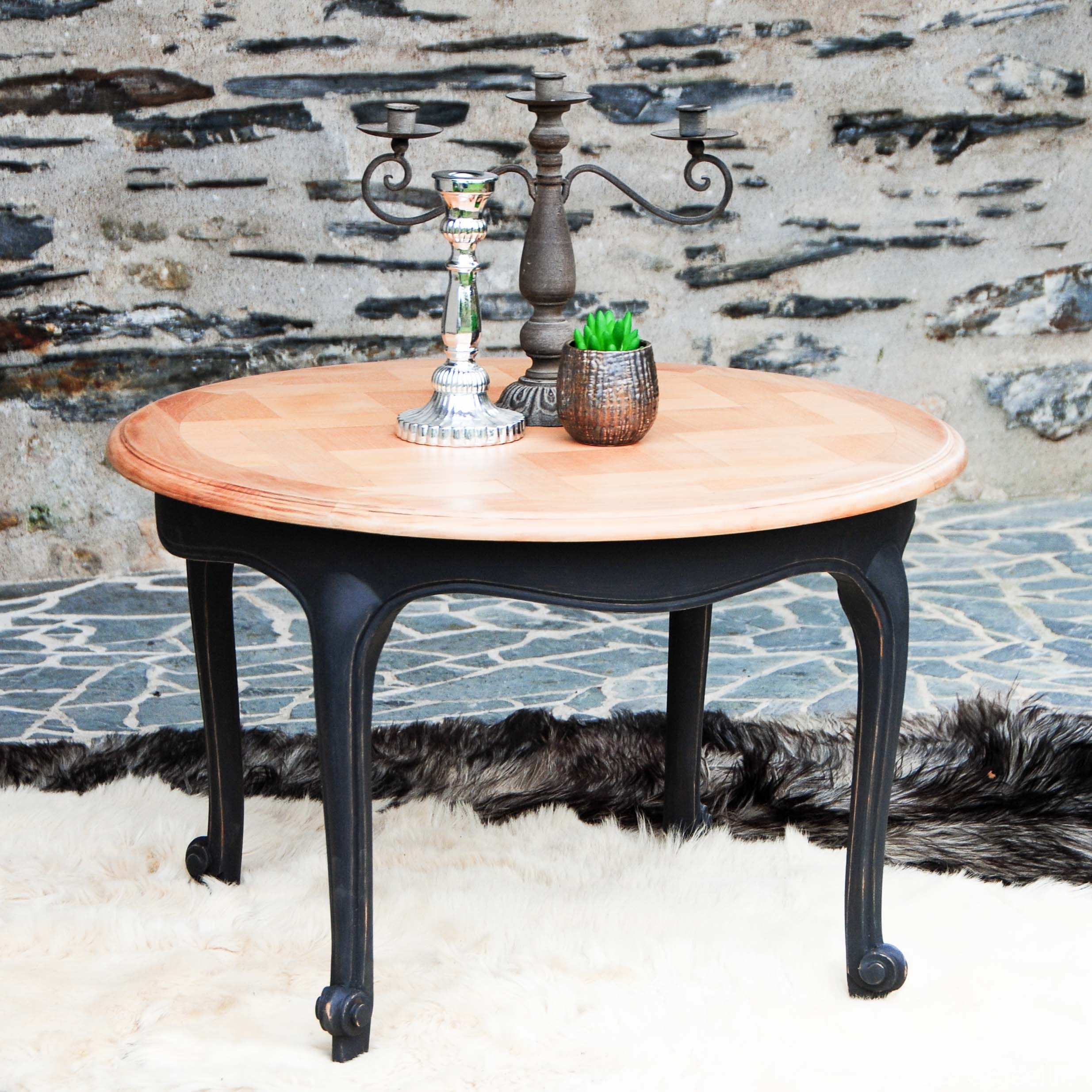 Relooker Une Table De Salon Table Basse Ronde Baroque Uac Sur With Relooker Une Table
