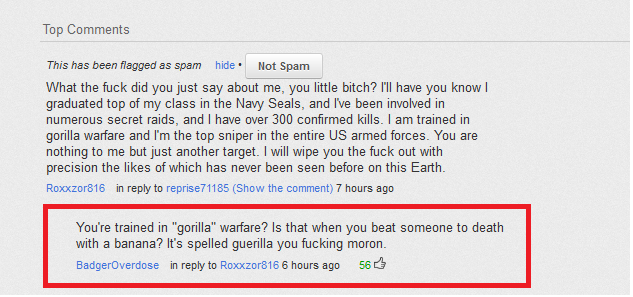 Navy Seal Copypasta Less Is More And So Is Basic Editing Navy Seals Funny Messages Basic Editing