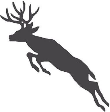 new custom screen printed t shirt deer jumping small free