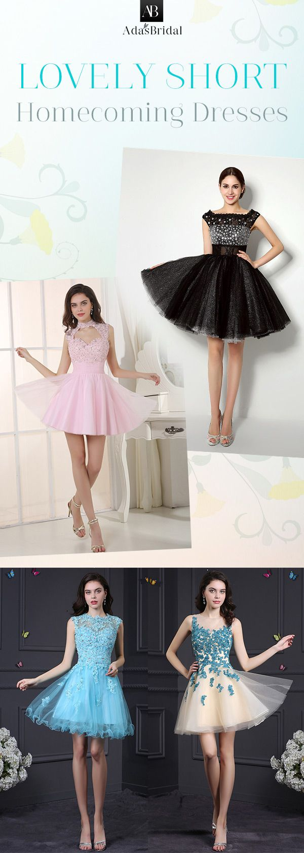 Lovely short homecoming dresses struggling to find the right
