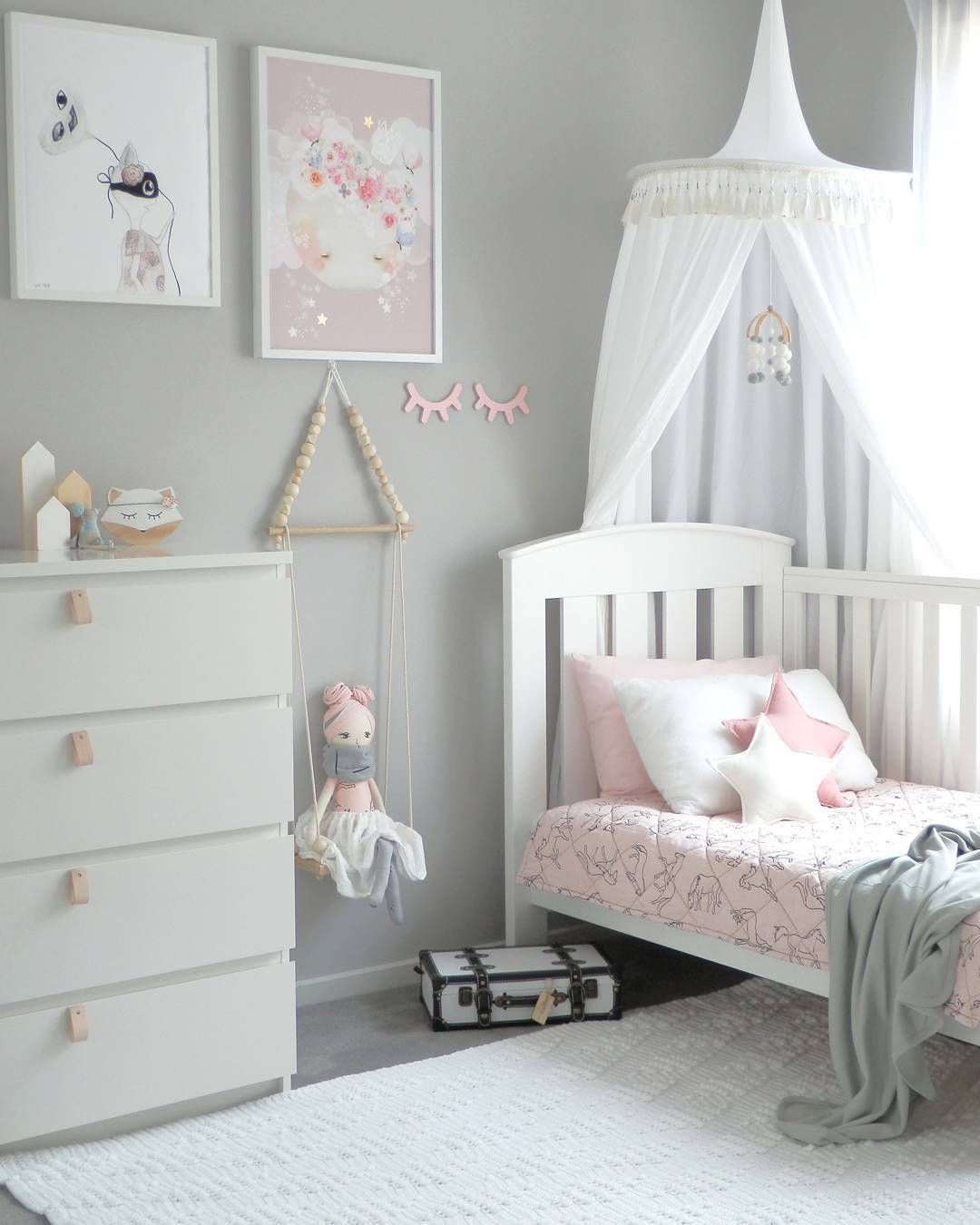 Baby Girl Bedroom Pin On Little Girls Room