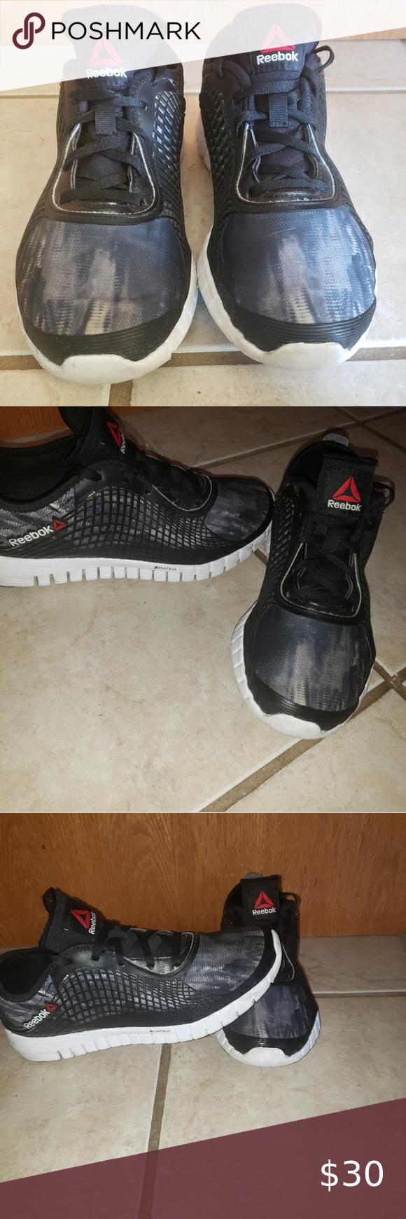 Reebok Z Rated Running Shoe Running Light Weight Shoe Internal Stretch Bio Sleeve External Nanoweb Support System Anatomical Last Running Shoes Reebok Shoes