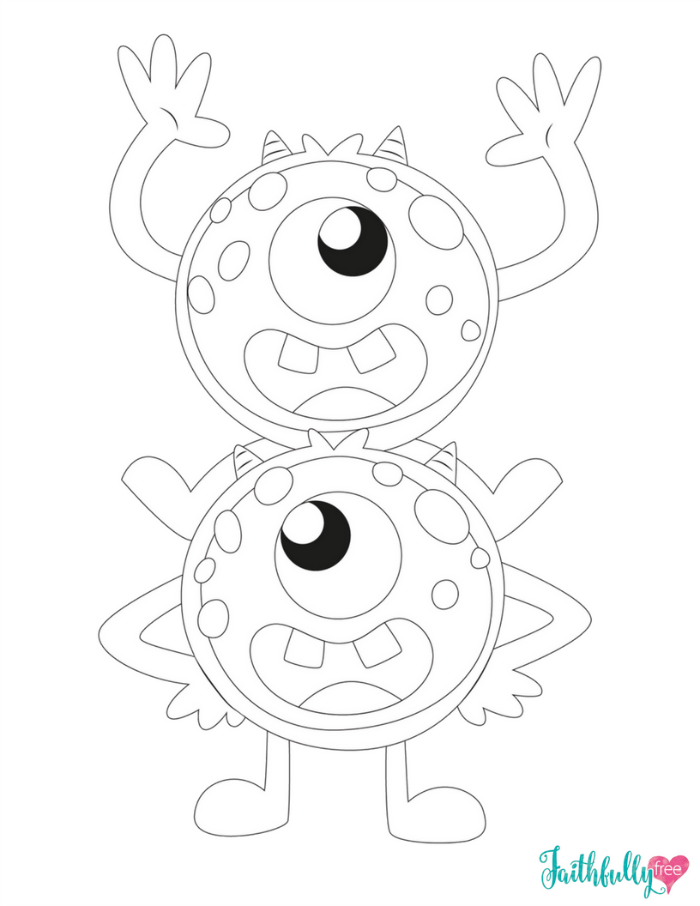 Monster Coloring Pages Free Printables Monster Quilt Monster Coloring Pages Cute Coloring Pages