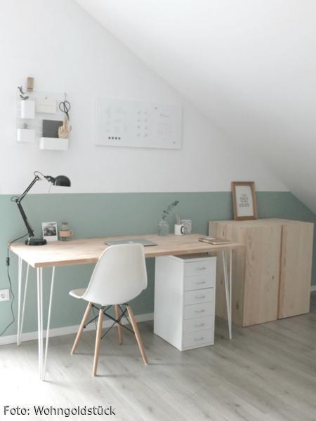 Home Office Im Scandilook Wohnen Haus Deko Und Haus Interieurs