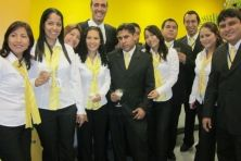 El equipo de Mibanco Agencia2 Gamarra