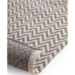 Photo of benuta Washable Cotton Rug Cooper Anthracite 190×280 cm – Modern rug for living room benu
