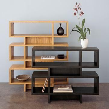 Storage Furniture Stacked Modular Bookcases West Elm