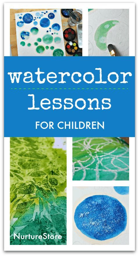 5 easy watercolor painting lessons for children - #activities #children #Easy #Lessons #PAINTING #Watercolor #easywatercolorpaintings