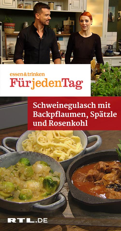 Schweinegulasch mit Backpflaumen | RTLplus - Mi 30.01.