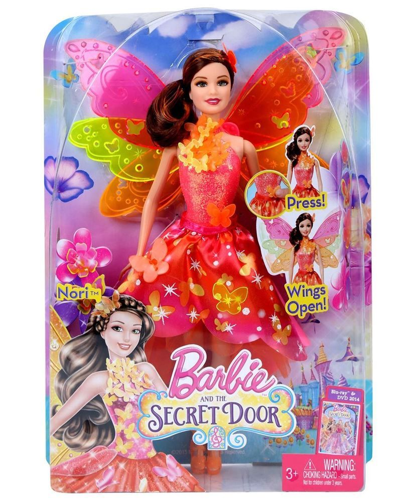 Barbie deluxe furniture stovetop to tabletop kitchen doll target - Barbie And The Secret Door Nori Fairy Doll Make Her Wings Open Magically Blp26