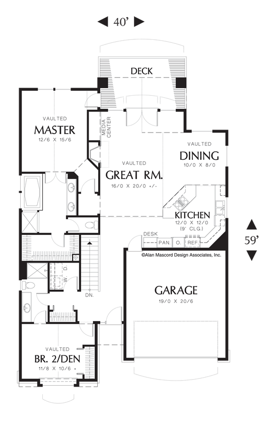Mascord House Plan 1221a The Kentwood Coastal House Plans House Plans How To Plan