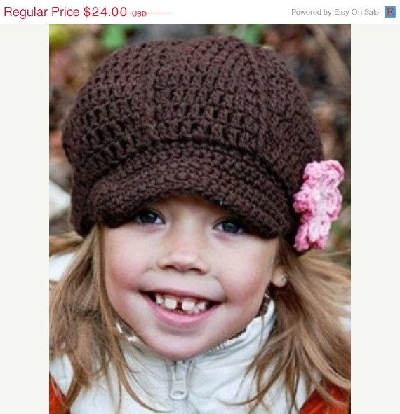 Love this little hat  Cap by simplyjcrochet on Etsy, $16.32