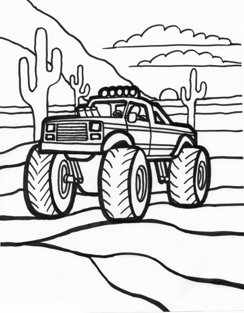Fire Truck Coloring Pages Pdf Beautiful Free Printable Monster Truck Coloring Pages Fo Monster Truck Coloring Pages Truck Coloring Pages Cartoon Coloring Pages