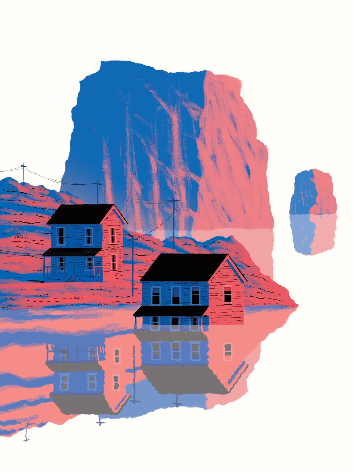 Melange Orange Et Rose rose et bleu // mélange 2 couleurs en 2020 | illustration