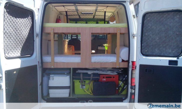 Option fourgon am nag camping car citroen jumper for Amenagement interieur camping car