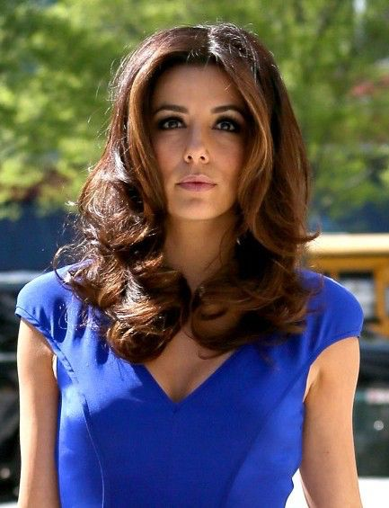 Eva Longoria Hairstyles Captivating Image From Httppophaircutsimages201211Evalongoriaeasy