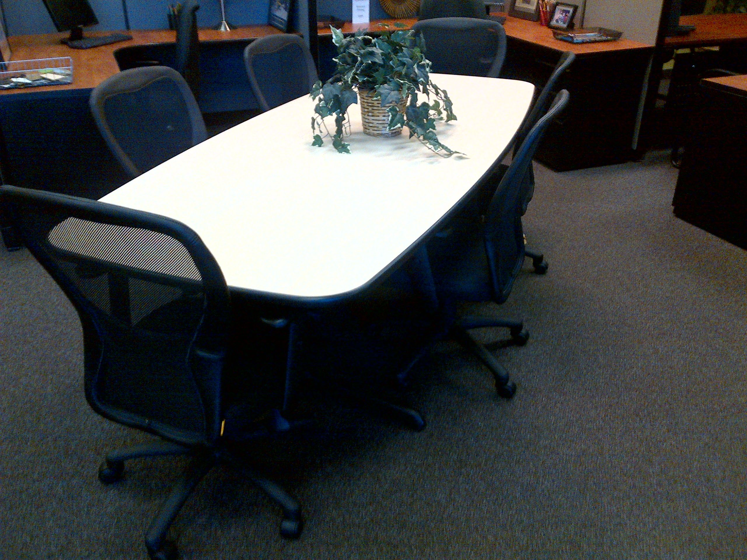 BoatShaped Conference Table New Life Office
