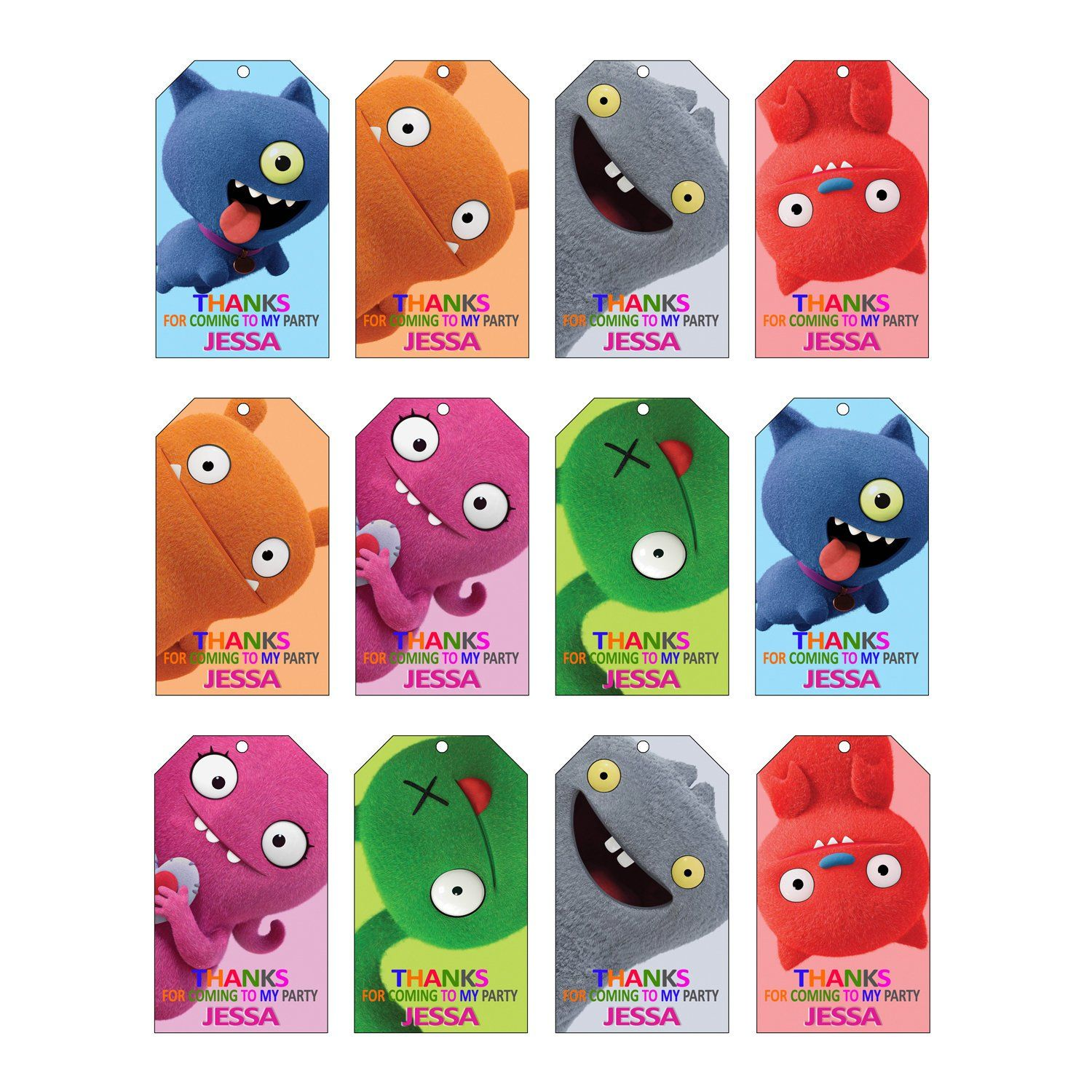 Pin On Ugly Doll Birthday Party