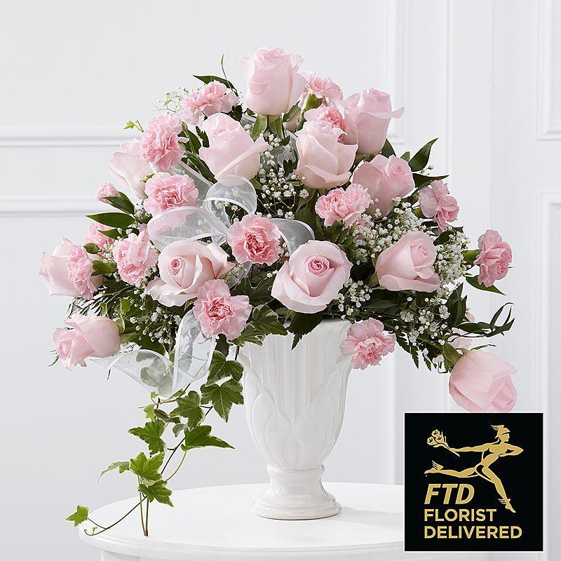 The FTD® Deepest Sympathy Arrangement Flores