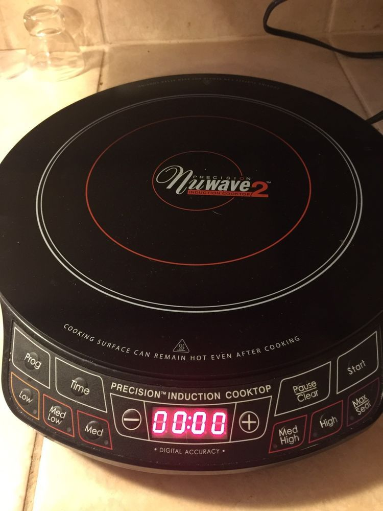 Nuwave 2 Precision Induction Cooktop Model 30151 Ar Portable 12 Inch Electrical Induction Cooktop Cooktop Induction