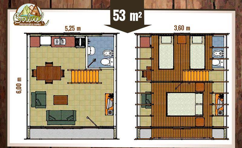 GALUEL - CONSTRUCCIONES | Planos de casas en 2019 | Small ...