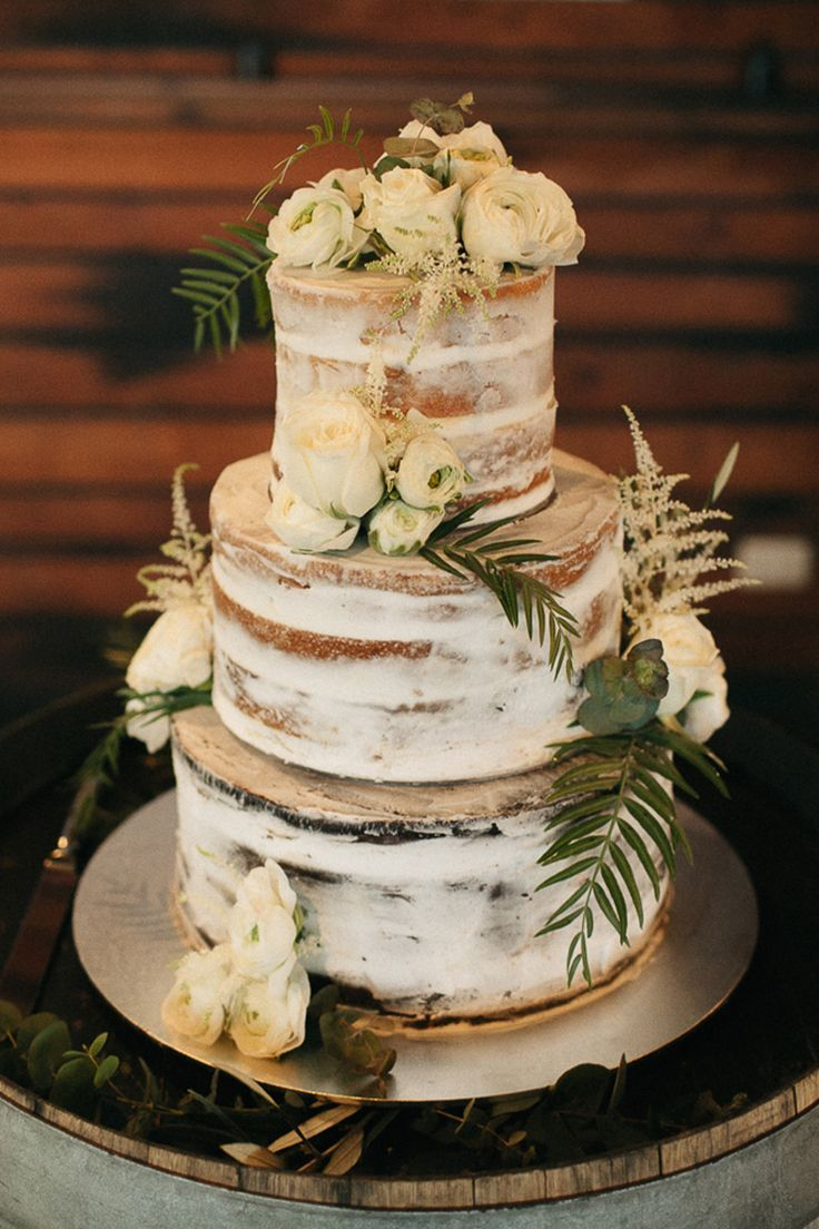 Nicole & Tom's Lush Olive Green & White Winery Wedding