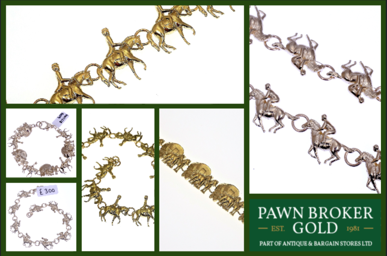 New 9ct Gold Equestrian Jewellery For